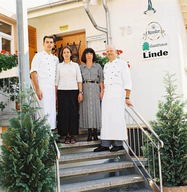 Gasthaus Zur Linde, Familie Trefzer, 2006